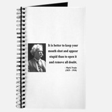 Mark Twain 41 Journal