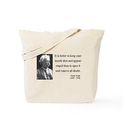 Mark Twain 41 Tote Bag