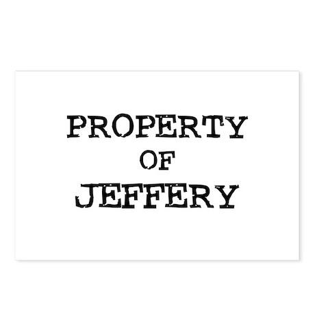Property of Jeffery Postcards (Package of 8)