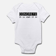 Concrete Is Infant Bodysuit