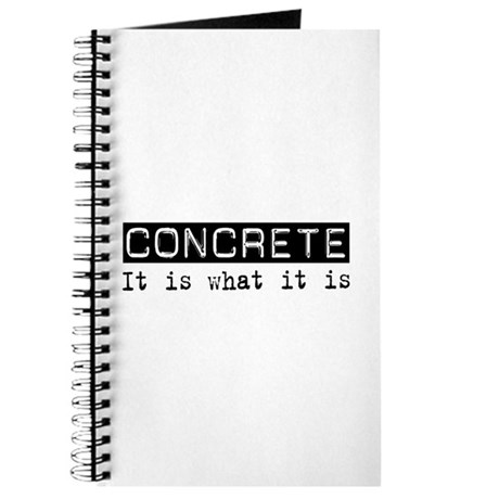 Concrete Is Journal