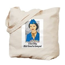 Cute Hostess Tote Bag