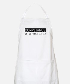 Compliance Is BBQ Apron