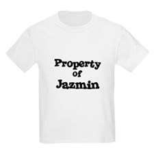 Property of Jazmin Kids T-Shirt