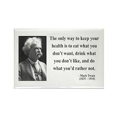Mark Twain 42 Rectangle Magnet (100 pack)
