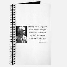 Mark Twain 42 Journal