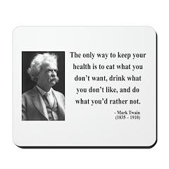 Mark Twain 42 Mousepad