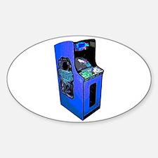 Arcade Oval Decal