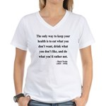 Mark Twain 42 Women's V-Neck T-Shirt