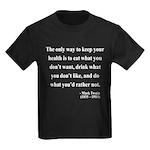 Mark Twain 42 Kids Dark T-Shirt