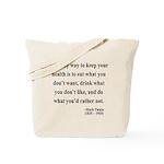 Mark Twain 42 Tote Bag