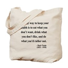 Mark Twain 42 Tote Bag