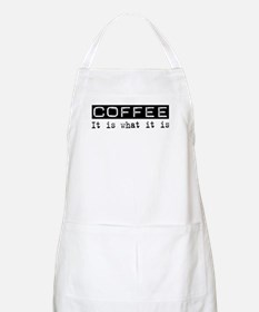 Coffee Is BBQ Apron