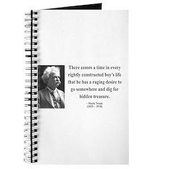 Mark Twain 43 Journal