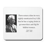 Mark Twain 43 Mousepad