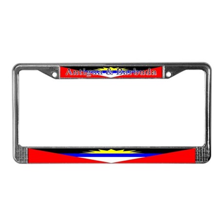 Antigua & Barbuda Flag License Plate Frame