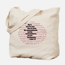 Daughter of Abraham Tote Bag