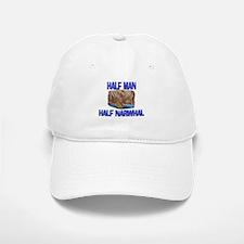 Half Man Half Narwhal Baseball Baseball Cap