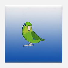 Pacific Parrotlet Tile Coaster