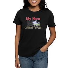My Hero Wears Combat Boots Tee