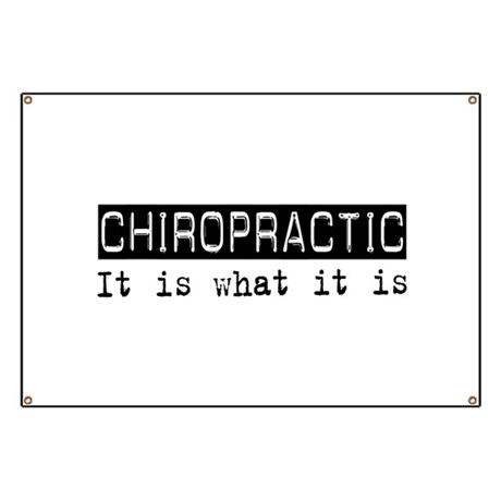 Chiropractic Is Banner