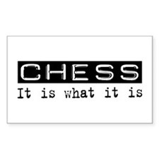 Chess Is Rectangle Decal