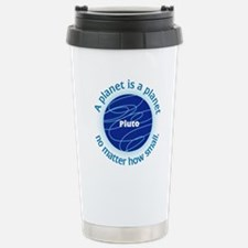 Pluto_A Planet is a... Travel Mug