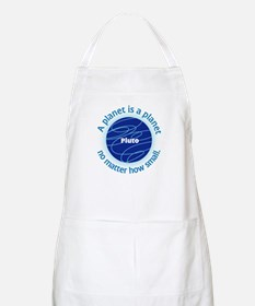 Pluto_A Planet is a... BBQ Apron