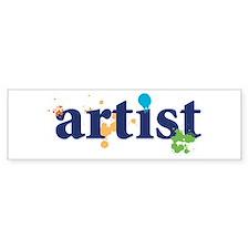 """Artist"" Bumper Bumper Sticker"
