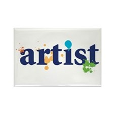 """Artist"" Rectangle Magnet"