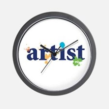 """Artist"" Wall Clock"