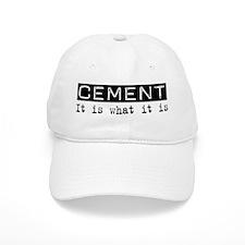Cement Is Baseball Cap