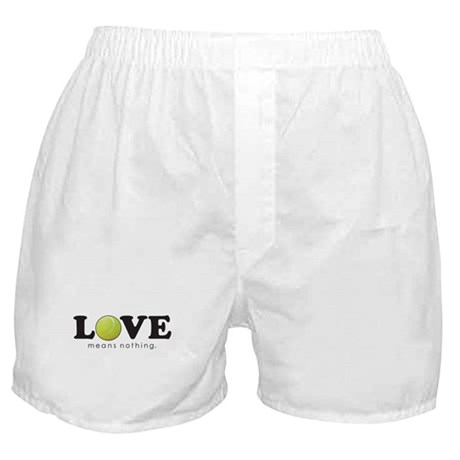 """""""Love Means Nothing"""" Boxer Shorts"""