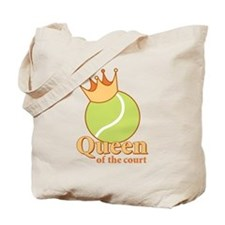 """Queen of the Court"" Tote Bag"