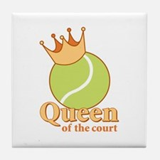 """""""Queen of the Court"""" Tile Coaster"""