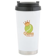 """Queen of the Court"" Travel Mug"