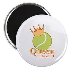 """Queen of the Court"" Magnet"