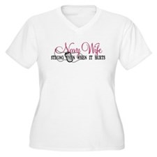 Navy Wife Strong When Hurts T-Shirt