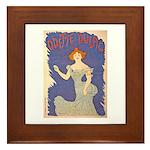 Odette Dulac Framed Tile