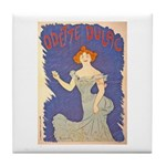 Odette Dulac Tile Coaster