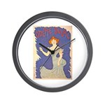 Odette Dulac Wall Clock