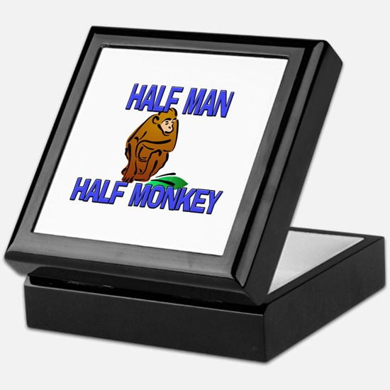 Half Man Half Monkey Keepsake Box