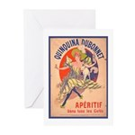 Quinquina Dubonnet Greeting Cards (Pk of 10)