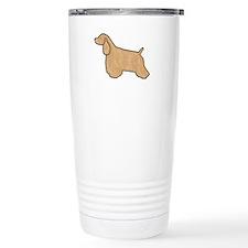 Buff Cocker Spaniel Travel Mug