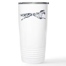 Leaping English Setter Travel Coffee Mug