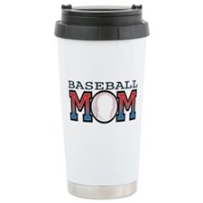 Baseball Mom Travel Coffee Mug