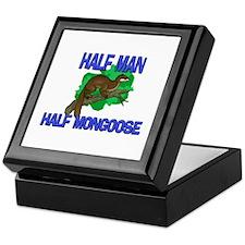 Half Man Half Mongoose Keepsake Box