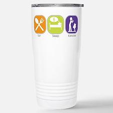Eat Sleep Karaoke Travel Mug