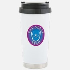 Eat Sleep Bead Travel Mug
