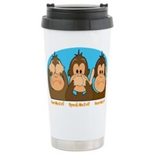 See,Speak,Hear No Evil Travel Mug